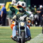 In this week's episode of  Sons of Anarchy , the Ducks ran over the Golden Eagles, 63-14, at Autzen Stadium in Eugene, OR.