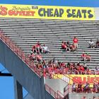 Cheap seats but not the outcome they bargained for as the Terps were tripped by Connecticut, 24-21, at Byrd Stadium in College Park, MD.