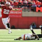 Not all Big Ten teams struggled in Week 4. Nebraska scored a whopping 73 points, racking up 28 first downs, 571 total yards and 392 rushing yards in the process. Equally exciting for the 'Huskers: Rex Burkhead (pictured) returned after missing time with a sprained knee, rushing for 119 yards and two touchdowns on a mere eight carries.