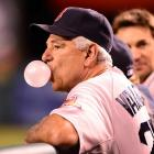 It appears the not-so-beloved BoSox skipper's bubble is about to burst after a season of dissension, suspicion, mutiny and general crankiness. You can listen to him expound on his new miserable experience and credit SI for its recent profile of him   by clicking HERE  .