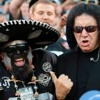 The KISS bassist has discovered the band's next guitarist at a Raiders game in Oakland.