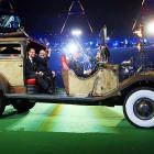 After a long, perilous journey during which their jalopy was apparently stripped by thugs, Prince Edward aka The Earl of Wessex and IPC President Sir Philip Craven finally arrived at London's Olympic Stadium just in time for the end of the Paralympics and this week's gallery.