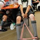 The key to pulling yourself up by your bootstraps or your shoelaces or whatever: Drink lots of beer and wear lederhosen.