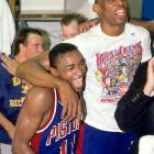 Thomas and the Pistons finally broke through in 1989. With a deep and balanced team, featuring the likes of Bill Laimbeer, Dennis Rodman and Joe Dumars, the Pistons cruised to a 63-19 record, the best in the East. In a rematch of the previous year, the Pistons faced the Lakers, sweeping their Western Conference foe in four games.