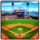 The Dodgers take on the Giants at AT&T Park in San Francisco through the lens of Instagram.