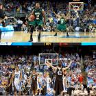 Not one, but two No. 2 seeds lost in the first round of the 2012 NCAA Tournament, the first time that has happened in tournament history. First it was Norfolk State, leaning heavily on forward Kyle O'Quinn to keep pace with Missouri's rapid attack -- which held steady -- before eventually shocking the Tigers 84-83. After that was a game with a significantly different feel, led by a hidden star; Lehigh's C.J. McCollum fundamentally outclassed every player on the floor -- including Duke's heralded freshman Austin Rivers --  scoring 30 points and leading the Mountain Hawks to a 75-70 win over the Blue Devils.