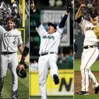 It was the first time in Major League history that three different pitchers threw perfect games in one season, two of which came in the same ballpark. Humber, a career journeyman for the White Sox, silenced the Mariners in April at Safeco Field before Seattle's own Hernandez flummoxed the White Sox for nine innings a few months later. In between the two was Cain's silencing of Arizona, which was the first perfect game in Giants' history.