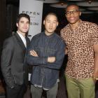 NBA Stars at Fashion Week