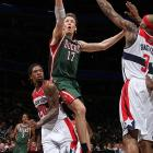 After five seasons in Indiana, Dunleavy found a role off the bench with the Bucks last season, averaging an efficient 12.3 points and 3.7 rebounds. Dunleavy shot 47.4 percent from the field and converted 40 percent of his three-pointers for the second season in a row, making him a bargain at $3.75 million -- his salary for 2012-13, too. He'll turn 33 right before the 2013-14 season but could easily help anchor a contender's second unit.