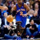 """Life in New York doesn't look like it'll be easy for Felton. The point guard not only has to follow in the footsteps of Linsanity, but he also has to find a way to bring together a team Phil Jackson deemed """"clumsy."""" Felton did average nine assists during his last go-round with the Knicks, in 2010-11, but that was under a different coach and with different players. His ability to mesh with the team during camp could go a long way in determining the Knicks' fortunes this year."""