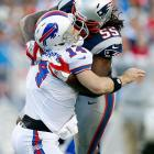 The Patriots linebacker was fined $25,000 for a helmet-to-helmet hit on Bills quarterback Ryan Fitzpatrick in Week 10.