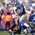 The Giants safety was hit with a $30,000 fine for cracking a defenseless Vincent Jackson in New York's victory over the Buccaneers in Week 2. Though Phillips was not flagged by the replacement referees on the play, his fine was a bit heavier than most of his cohorts' fines because he is a repeat offender from last season.   Phillips successfully appealed his fine.