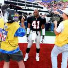 """The Super Bowl's grand stage has been the scene of some unfortunate misadventures by players, but few have been as cringe-worthy as Eugene Robinson's. The Falcons safety stood as a prime example of the kind of family man and community pillar that the NFL likes to honor and celebrate, and prior to Super Bowl XXXIII in Miami, he received the Bart Starr Award from Athletes in Action for """"high moral character."""" The night before the game, Robinson left his wife in the team's hotel and was arrested in a seedy neighborhood for allegedly soliciting a lady of the night who turned out to be an undercover cop. 'Guys had been going there all week,'' a Falcon told  The New York Times . ''It's just that Eugene was the only one who got caught.''"""