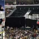 """The first Super Bowl hosted by Cowboys Stadium upset 2,000 fans who were forced to move to different seats or standing room areas because a temporary seating section hadn't been completed on time. The NFL, the Cowboys and their owner Jerry Jones, and the stadium were hit with assorted fraud, breach of contract, negligence and deceptive sales practice lawsuits. Roger Goodell tried to smooth things over by offering a face-value refund or a free ticket to a future Super Bowl with round-trip airfare and hotel included. """"We made the best of it. We screwed it up. I can't change that,"""" NFL executive VP Eric Grubman admitted to ESPN."""