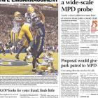 Packers-Seahawks Front Pages