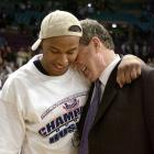 Caron Butler and Calhoun made the Elite Eight in 2002, but the Huskies fell to eventual national champion Maryland.