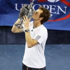 Finally, the wait is over. In his fifth appearance in a major final, Andy Murray broke through with a thrilling 7-6 (10), 7-5, 2-6, 3-6, 6-2 win over Novak Djokovic, ending Great Britain's 76-year Grand Slam title drought. The match stretched nearly five hours and included the longest tiebreaker ever in a U.S. Open final, a 22-point exchange that Murray won to seal the opening set. The title caps off a strong summer for the 25-year-old, one that saw Murray reach the final at Wimbledon, win Olympic gold and finally capture his first career Grand Slam title in New York.