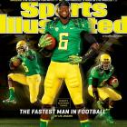 Oregon's DeAnthony Thomas, the fastest man in football according to Lee Jenkins, graces the cover in an issue devoted the some of the fastest athletes and vehicles in sports today.