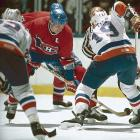 Mike Bossy scores two goals, including the game-winner, as the Islanders defeat the Canadiens, 4-1, to take the Wales Conference Final and advance to their fifth straight Cup final. With the victory, the Isles, who had lost the first two games in Montreal, capture their 19th consecutive postseason series, a record not only for NHL teams, but for all North American sports clubs, and one that is not likely to be broken. In the game, Clark Gillies and Pat Flatley also score for the Isles and Denis Potvin records his 98th playoff assist, surpassing the career mark held by Habs' legend Jean Beliveau.