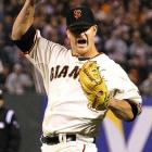 Matt Cain pitched the 22nd perfect game in Major League history and the first in Giants' franchise history in a 10-0 victory over the Astros. Cain had 14 strikeouts, tying a record for K's in a perfect game held by Sandy Koufax.