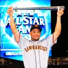 Melky Cabrera had two hits, including a two-run homer in the National League's 8-0 win in the All-Star Game. He became the sixth Giants' player to win the midsummer classic MVP award, tying the Orioles for the most in baseball. Unfortunately, Cabrera later tested positive for testosterone and was suspended for 50 games on August 15th.