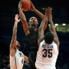 Nash was a top-10 recruit coming out of high school, but he had a disappointing season given his talent level and expectations. Nash was inconsistent and, at times, appeared overwhelmed. There's no guarantee that will change in his second season in Stillwater, but with a year's worth of experience and another potential lottery on the roster in Marcus Smart, there's plenty of reason to believe Nash will live up to his potential as a sophomore.