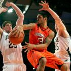 Stats to know: 9.1 ppg, 5.6 apg, 1.7 spg  His season averages weren't gaudy, but the MVP of last season's Big East tournament excels on the defensive end and his offensive strengths (speed in transition, penetrating to initiate the attack) don't always translate to stat sheets. Look for Siva to avoid a midseason slump like last year's and serve as the steady but aggressive hand guiding another deep postseason run.