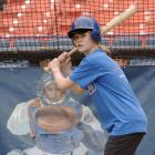 Celebs & Athletes Taking Batting Practice