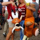 Kind of sums up how the day went for Longhorns.