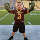 The kid was fightin' mad after his Sun Devils were manhandled by a bunch of Ducks, 43-21, in Tempe.