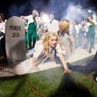Welcome to another bloodcurdling episode of  Did You See That? -- the College Football Edition . This week's entertainment is the Southeastern Louisiana Lions marching band, whose set calls for Grateful Dead tunes.