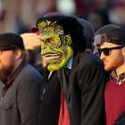 No doubt they were seated near the ghoulpost for the big 38-24 home win over South Alabama.
