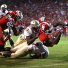 After knocking off fellow ACC hopeful Clemson, Florida State's path to the conference crown seemed clear. Not so fast: The 'Noles tripped up on the road in Week 6, suffering a shocking last-second upset at the hands of NC State. The Wolfpack kept it close for three quarters, then delivered three unanswered scored (one field goal, two touchdowns) to knock off FSU.