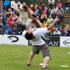 Here's one sport where dogging it is actually encouraged.
