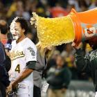 Mr. Crisp's appearance was anything but after driving in the winning run in Game 4 of the ALDS.