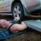 "At the ""Record Breaking Festival"" near Budapest, Attila Banyai learns one of life's more painfully obvious lessons: never take a nap in your driveway."