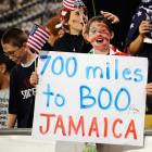 What did Jamaica ever do to this young soccer fan?
