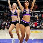 NBA Dancers in Preseason
