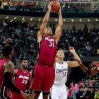 For years Shane Battier has been tasked with guarding his opponent's best scorer and has consistently done a good job. That's not to say that Battier is just a defensive player -- he also finds the energy to put some points on the board, averaging 9.2 points per game in his career.