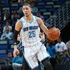 There were rumors that the Celtics were attempting to move up to draft Doc Rivers' son, Austin, but the younger Rivers ultimately went to New Orleans at No. 10. On Jan. 16, father faces son when the Hornets travel to Boston. As if that wasn't enough intrigue, the game also pits Anthony Davis against a player he's often compared to, Kevin Garnett.