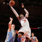 Carmelo Anthony met his former team in the Garden last year, but a lockout-shortened season precluded the Knicks' forward from returning to the city where he played the first seven seasons of his career. Given the time that's passed, Anthony should be more worried about a young, athletic Denver team than the reaction he'll receive from the crowd.