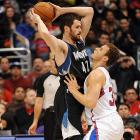 Two of the brightest young power forwards in the league go head-to-head when the Clippers visit the Timberwolves on Jan. 17. Blake Griffin held the scoring edge over Kevin Love in their matchups last season (a 24-point average to a 22-point average), but the Timberwolves won three of those four games. If we're lucky, this game will also feature a point guard duel between Chris Paul and Ricky Rubio, who is recovering from a torn ACL suffered last spring.