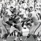 Buffalo blanks favored San Diego 23-0 for its second straight AFL championship and the last of the pre-Super Bowl era. Butch Byrd breaks game open with 74-yard punt return in second quarter. The Chargers, who had scored 54 points in two regular-season games vs. Bills, never advance past Buffalo 24-yard line.