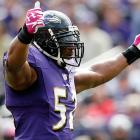 The Ravens linebacker had surgery on his right triceps on Oct. 17, a procedure that takes four to six months to recover from. It's unlikely he'll return this season, even if Baltimore makes Super Bowl XLVII, which will be held on Feb. 3. But he's so well thought of by the Ravens that they made what amounts to a symbolic gesture anyway.