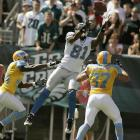 After a series of failed wide receiver draft picks (Charles Rogers, Mike Williams), the Lions selected Calvin Johnson out of Georgia Tech with the second pick in the NFL Draft. Unlike his predecessors, Johnson almost immediately emerged as one of the best receivers in the NFL and is widely considered to be the best in the game today.