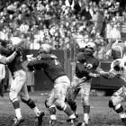 Making a strong case as the team of the 1950s, the Lions demolished the Browns 59-14 in the NFL Championship Game, winning their third NFL title of the decade and improving to 3-1 vs. Cleveland in the playoffs. Tobin Rote passed for 280 yards and four TDs.