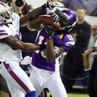 Other than Percy Harvin, few Vikings have been a part of the passing attack under Christian Ponder, but that may change this week against the Redskins, who have given up eight touchdowns to wideouts (and 13 total) this year. Don't be surprised to see the sure-handed former-Bear Aromashodu get more looks than usual, especially now that his role has expanded while filling in for the injured Jerome Simpson.