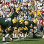 Bart Starr leads the Packers to a victory in the first Super Bowl ever, against the Kansas City Chiefs. The Packers had won nine NFL championships before the first official Super Bowl was played, but the victory over the Chiefs ushered in a new era.