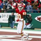 In their first playoff game in 22 years (since winning Super Bowl IV) and the first postseason game in Arrowhead Stadium history, the Chiefs use six takeaways to beat the Los Angeles Raiders 10-6 in an AFC wild-card game.