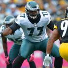 Demetress Bell has lost the starting left tackle job to King Dunlap at the moment. The Eagles will not want to pay Bell almost $7 million next season if he is just a backup.